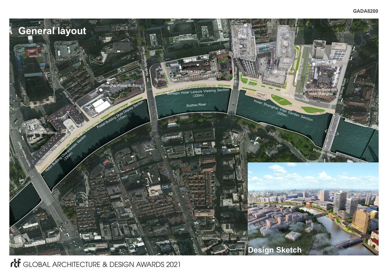 Design of Waterfront Space Connection Scheme of North Suzhou Road (Hongkou section) - Sheet2