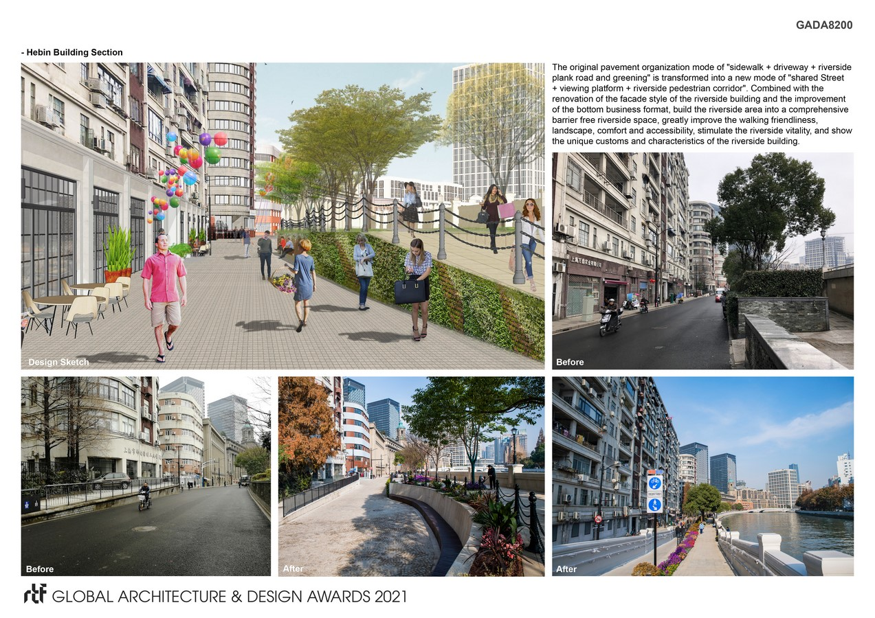 Design of Waterfront Space Connection Scheme of North Suzhou Road (Hongkou section) - Sheet6
