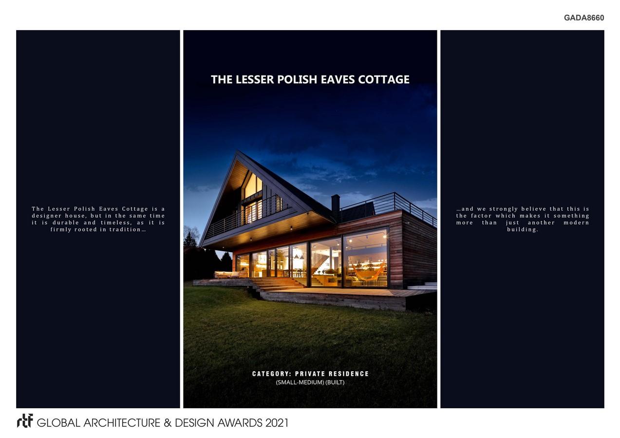 The Lesser Polish Eaves Cottage   BXB Studio Bogusław Barnaś - Sheet1