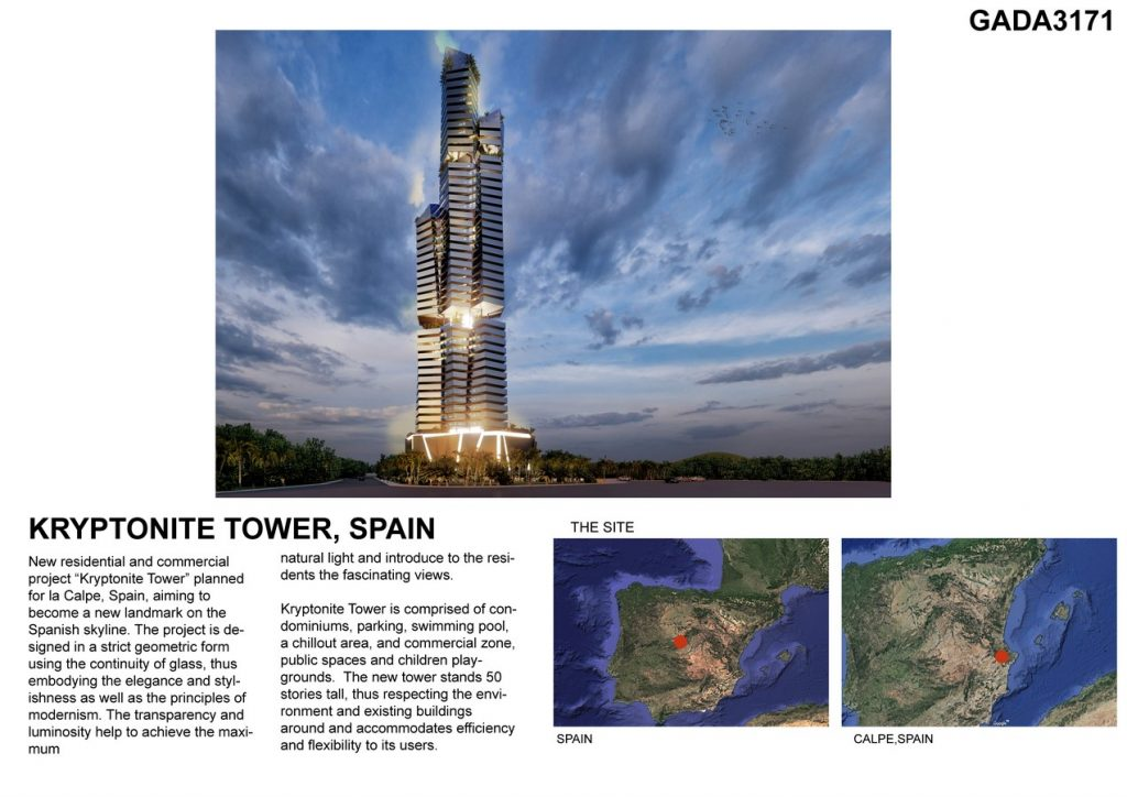 KRYPTONITE TOWER by DNA BARCELONA ARCHITECTS -SHEET4