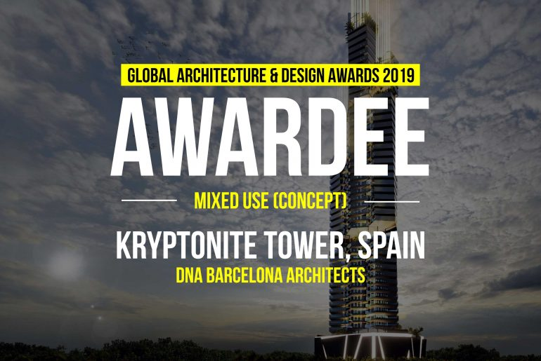 KRYPTONITE TOWER   DNA BARCELONA ARCHITECTS