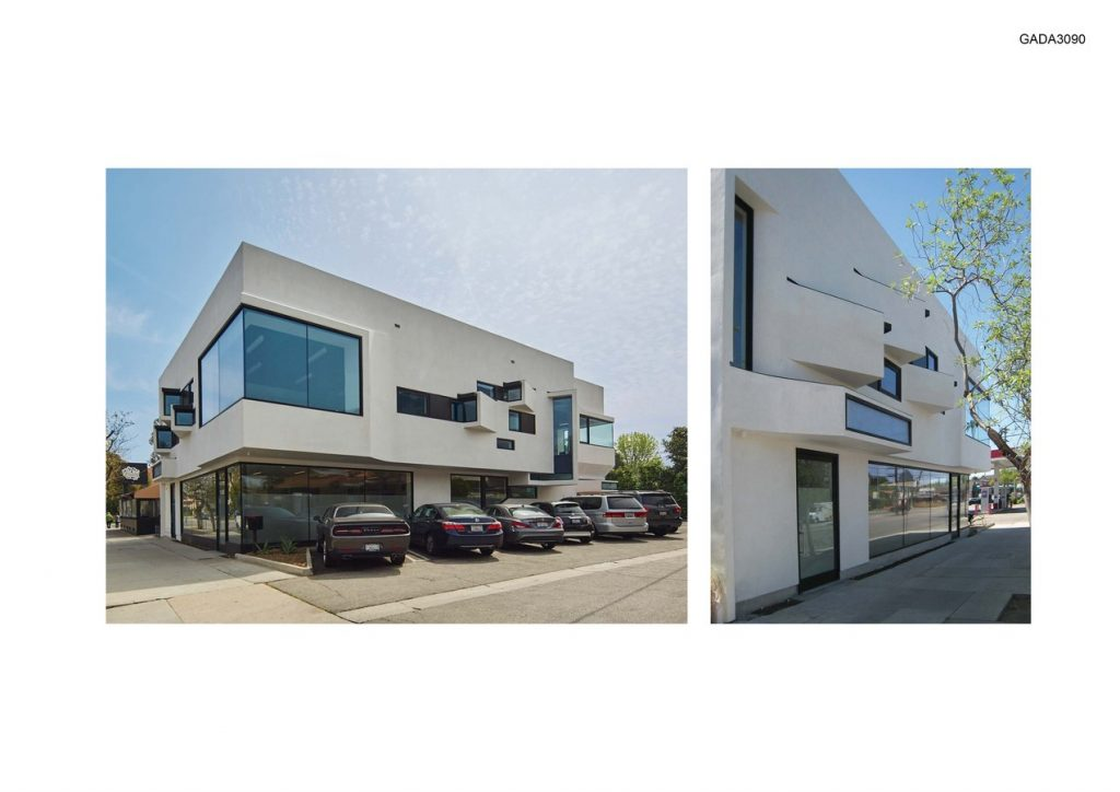 Thaxton and Assoicates Office & Retail Building by Griffin Enright Architects - Sheet1