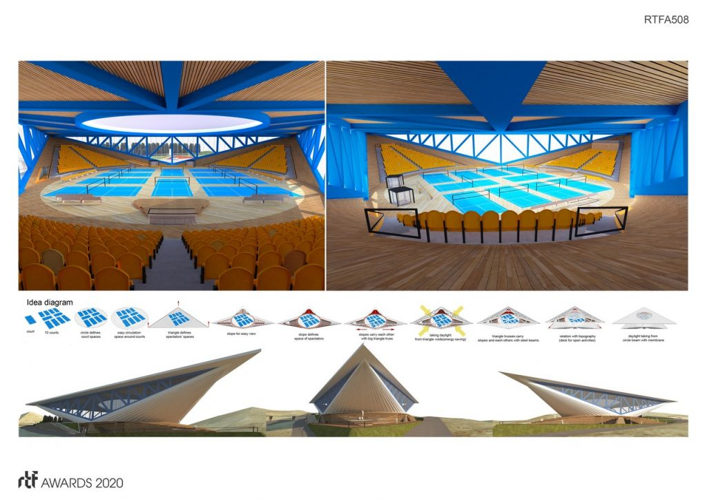Dalseong Citizen's Gymnasium | Wall Corporation - Sheet1