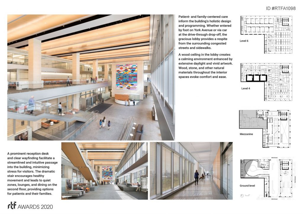 David H. Koch Center, NewYork-Presbyterian Hospital | Pei Cobb Freed & Partners Architects LLP - Sheet2