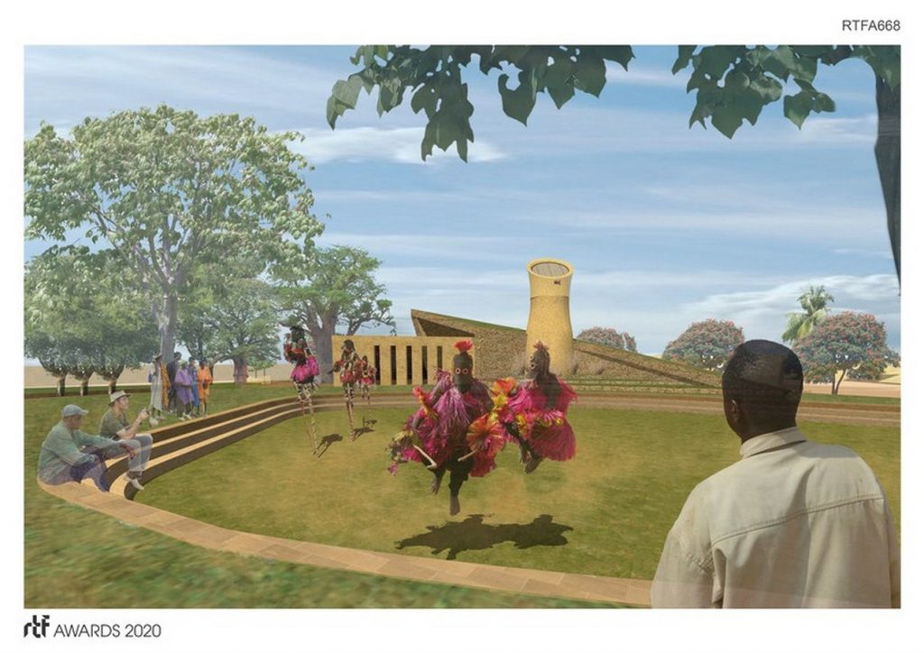Dogon Culture Visitors Center + Trail | ISTUDIO Architects - Sheet1