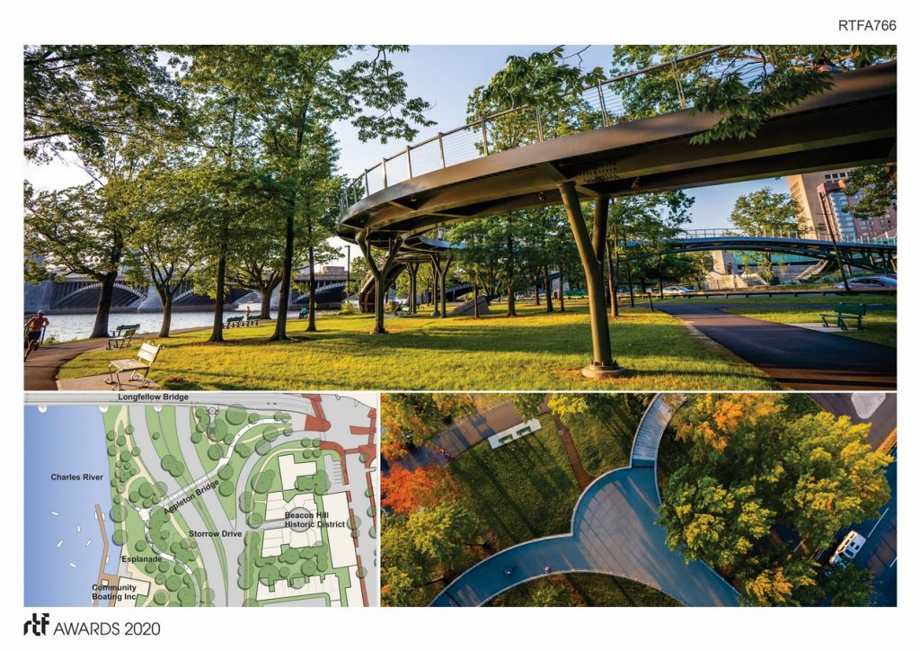 Frances Appleton Pedestrian Bridge By Rosales + Partners -2