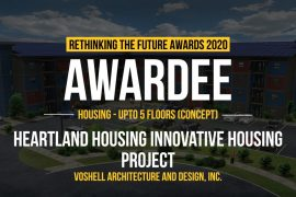 Heartland Housing Innovative Housing Project | Voshell Architecture and Design, Inc.