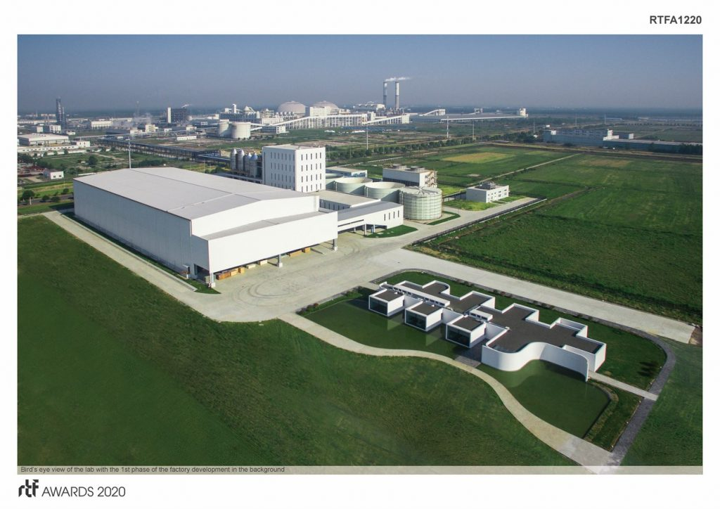 Laboratory for Shihlien Biotech Salt Plant | WZWX Architecture Group - Sheet2