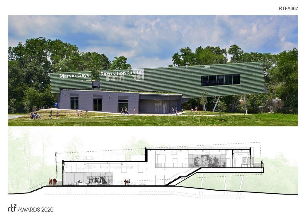 Marvin Gaye Recreation Center | ISTUDIO Architects - Sheet3