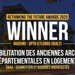 Réhabilitation des anciennes archives départementales en logements | S&AA - Schweitzer et Associes Architectes