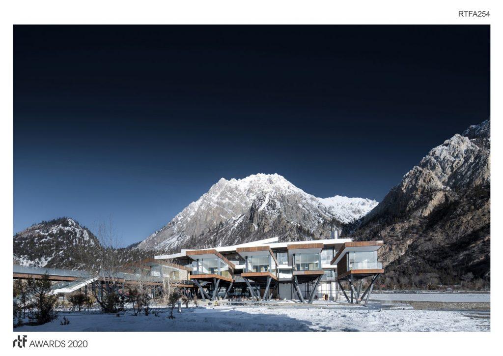 Ranwu Lake (Tibet) International Self-drive Tour and Recreational Vehicle Campsite | Arch-Hermit - Sheet1