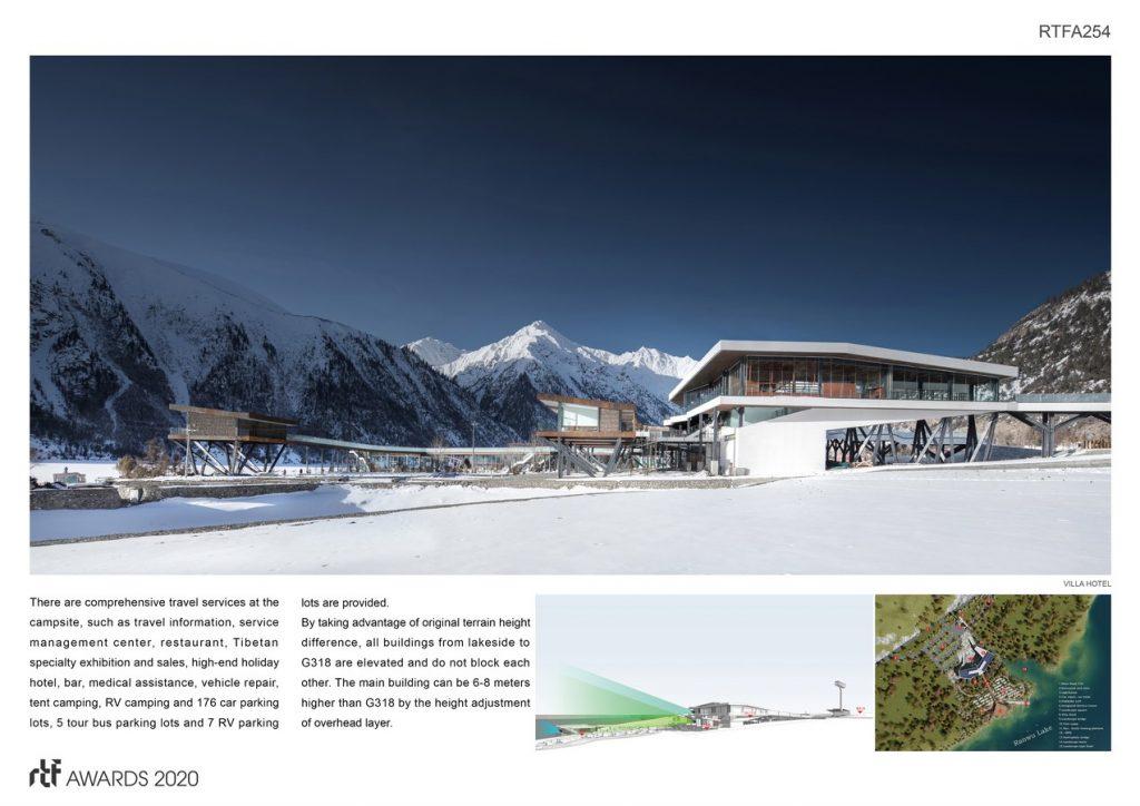 Ranwu Lake (Tibet) International Self-drive Tour and Recreational Vehicle Campsite | Arch-Hermit - Sheet3