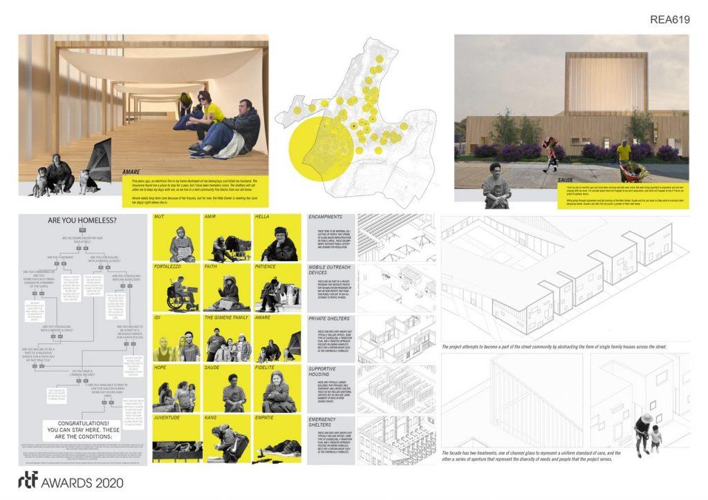 Shelter(ed) - Alternative Shelter Design and Urban Framework | Samantha - Sheet2