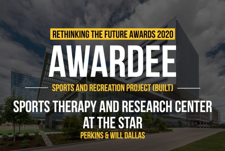 Sports Therapy and Research Center at the Star | Perkins&Will Dallas