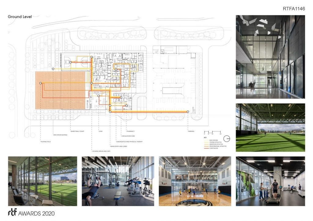 Sports Therapy and Research Center at the Star   Perkins&Will Dallas - Sheet3