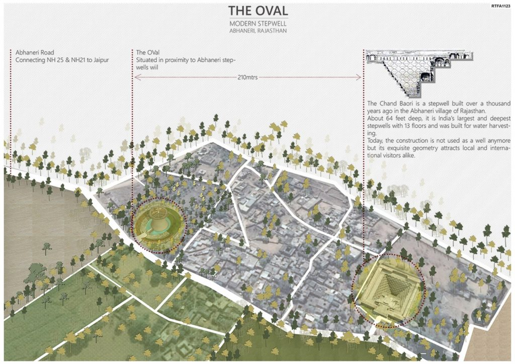 The Oval - Modern Stepwell   Spaces Architects@ka - Sheet2