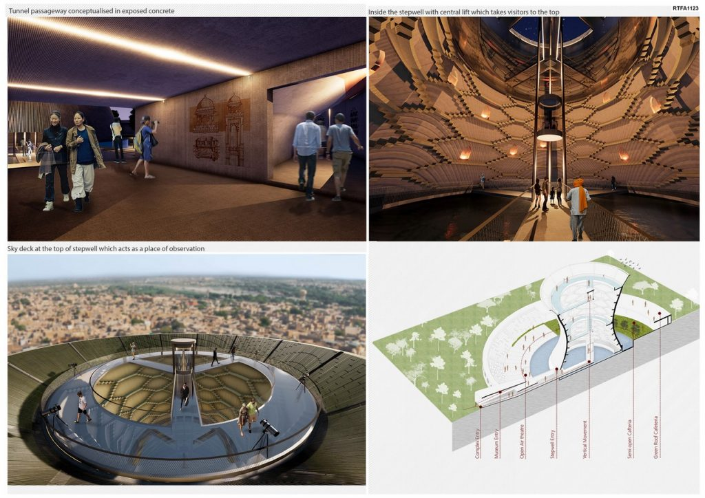 The Oval - Modern Stepwell   Spaces Architects@ka - Sheet4